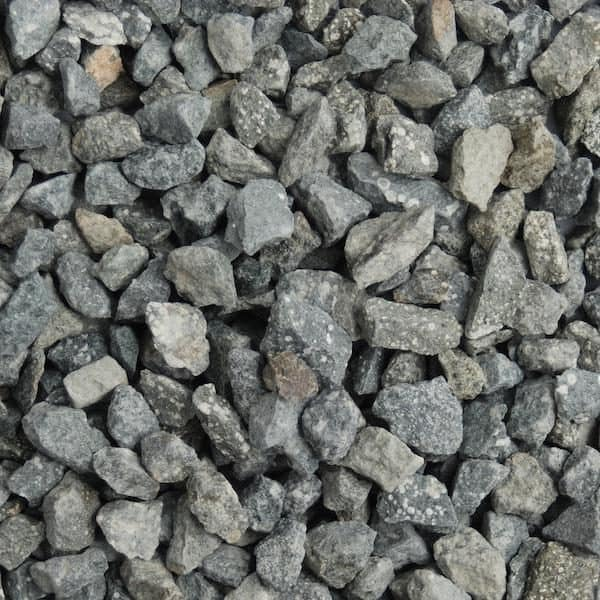 green granite chippings 14mm in size, dry
