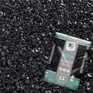 black decorative stones for plant pots, 5kg bag