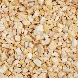 onyx chippings 14-20mm in size, wet